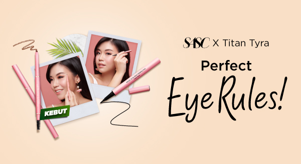 Beli SASC Eyebrow dan Eyeliner Gratis Nivea Double Eye Make Up Remover!
