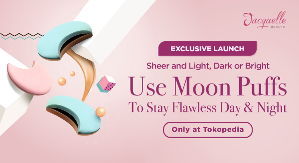 Use Jacquelle Moon Puff for a Perfect Buff