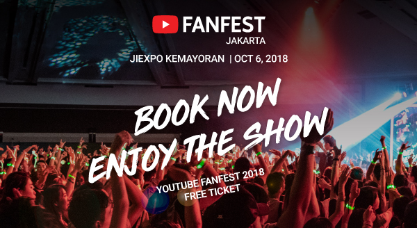 YOUTUBE FANFEST 2018 – Book Now!