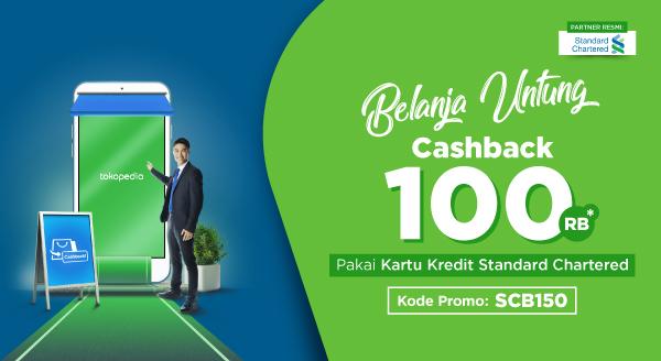 Belanja Pakai Kartu Kredit Standard Chartered Makin Untung, Langsung Dapat Cashback Rp100.000