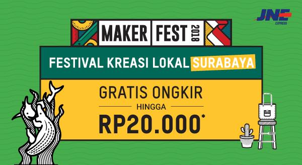 Gratis Ongkir untuk Kreasi Lokal Surabaya