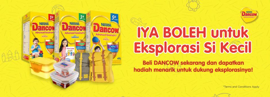 Beli Dancow Advance Excelnutri & Dapatkan Hadiah Menarik Sekarang!