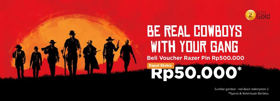 Promo Voucher Game - Dapatkan Bonus Razer PIN 50rb | Tokopedia