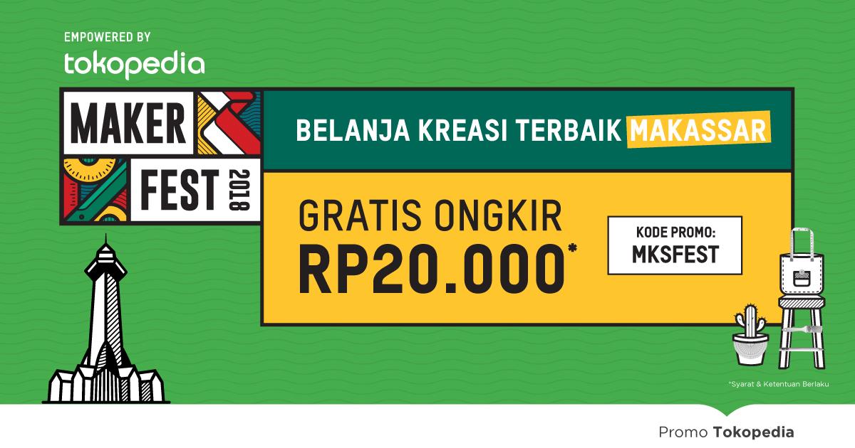 Gratis Ongkir untuk Kreasi Lokal Makassar