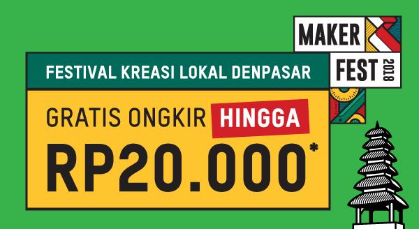Gratis Ongkir untuk Kreasi Lokal Denpasar