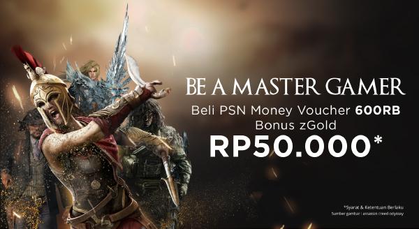 Jadilah Master Gamer di Mana Saja dengan Bonus zGold 50rb!