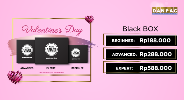 Harga Spesial Valentine Black Box