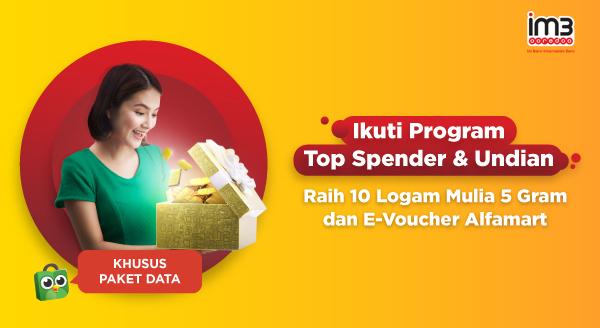 Yuk, Ikut Program Top Spender & Undian!