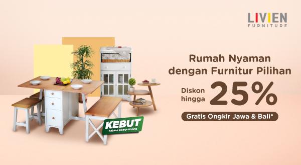 Wujudkan Rumah Idaman, dengan Koleksi Furniture Livien Pilihan