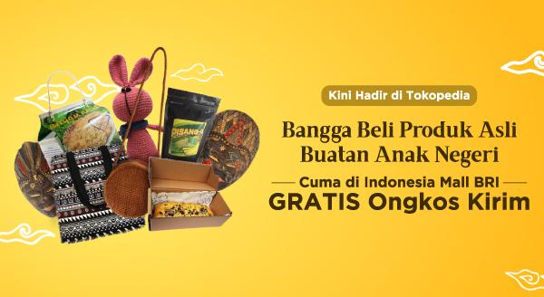 Produk Premium Buatan Negeri Sendiri Kini Tersedia di Indonesia Mall BRI