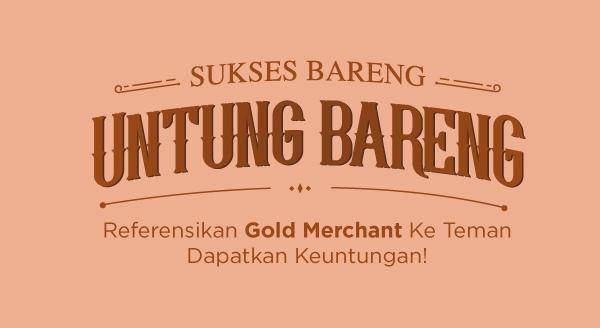 Baru! Raih Keuntungan dari Kode Referral Gold Merchant