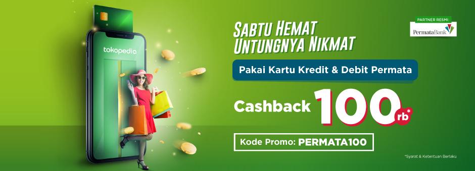 Sabtu Hemat, Cashback nya nikmat !