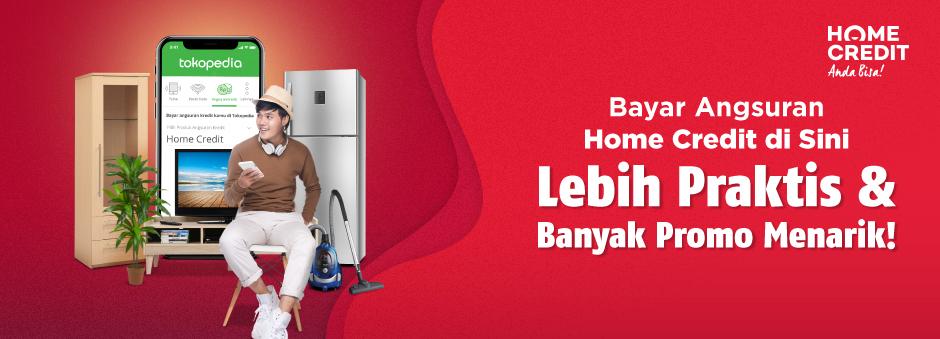 Bayar Angsuran Home Credit, Cashback hingga Rp30.000