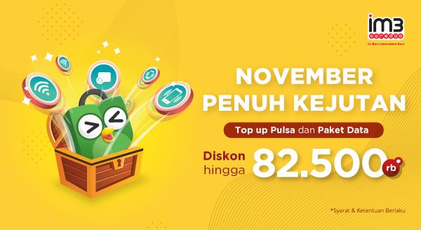 Hemat Top Up Pulsa & Paket Data Indosat hingga Akhir Tahun!
