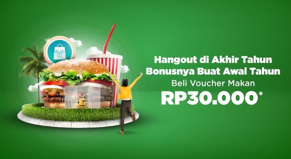 Beli Voucher Makan di Akhir Pekan, Hemat & Bonus Cashback!