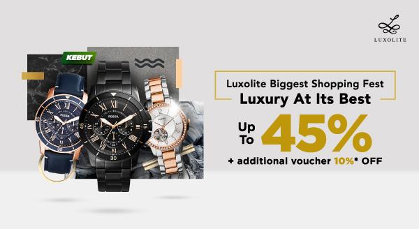 Kolekasi Jam Tangan dari Luxolite, Bikin Gaya Fashion-mu Makin Elit!