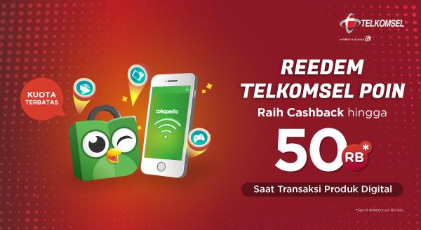 Ayo Redeem Telkomsel Poinmu Sekarang, Raih Cashbacknya!