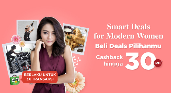 Ladies! Get The Best Deals with Cashback Up to 30rb!