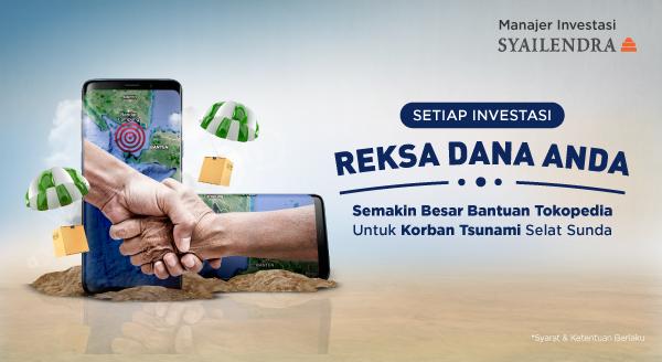 Investasi Reksa Dana untuk Bantu Korban Tsunami Selat Sunda