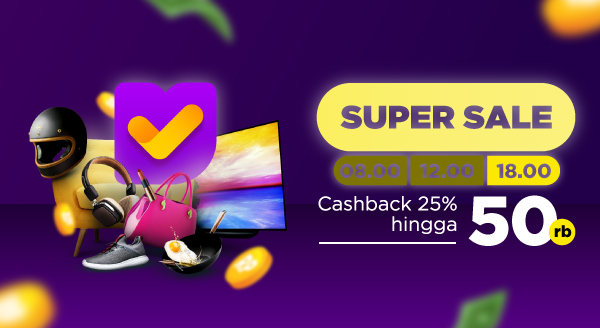Super Sale Tokopedia! Gunakan Kode CBMALAM dan Dapatkan Cashback!