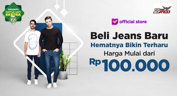 Mau Jeans Baru Cuma Modal Rp100.000?