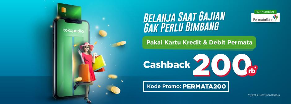Belanja saat gajian, makin hemat dengan Cashback Rp200.000!