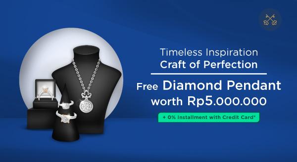 Belanja Perhiasan Bisa Dapat Berlian, Belinya Pake 0% Cicilan!