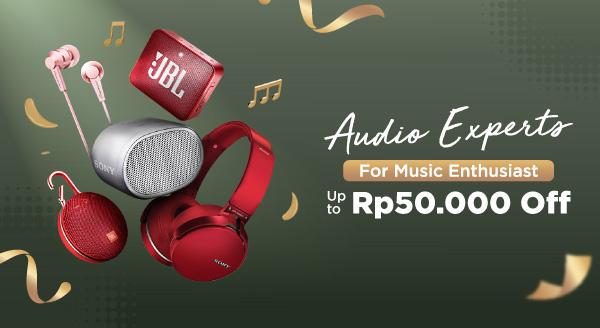 Nikmati Musik Favoritmu Makin Seru! Diskon 5% hingga Rp50.000