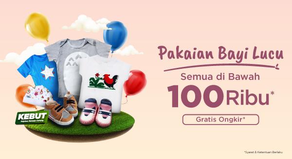 Hematnya Belanja Baju Bayi Lucu Semua Harga Di Bawah 100 Ribu + Gratis Ongkir!