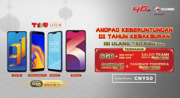 Telkomsel di Tokopedia, Koneksi Murah Bagi Seluruh Rakyat Indonesia!