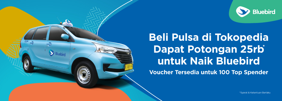 Khusus  Customer Bluebird; Diskon e-Money & Produk Telekomunikasi