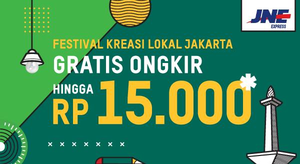 Gratis Ongkir untuk Kreasi Lokal Jakarta