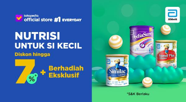 Harga Susu Anak Pediasure, Isomil Plus, Similac Gain Plu