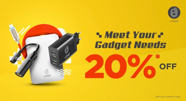 Perlengkapan Serba Guna untuk Gadgetmu di Mana Saja, Diskon 20%