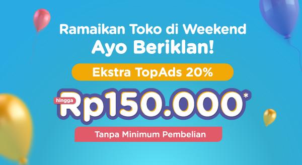 Ramaikan Toko di Weekend!