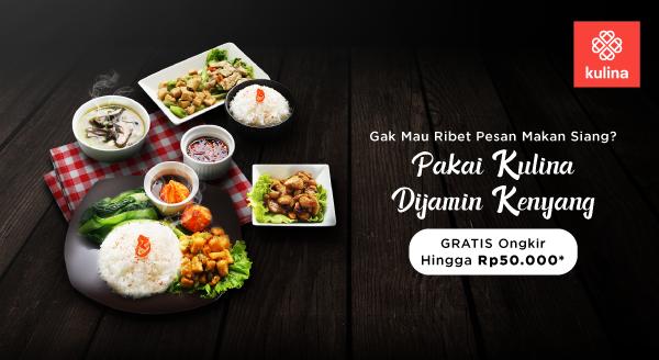 Makan Siangnya Warga Jakarta, Cuma Kulina Lezatnya Beda
