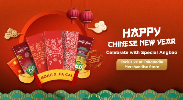Rayakan Chinese New Year dengan Angpao Spesial Tokopedia!