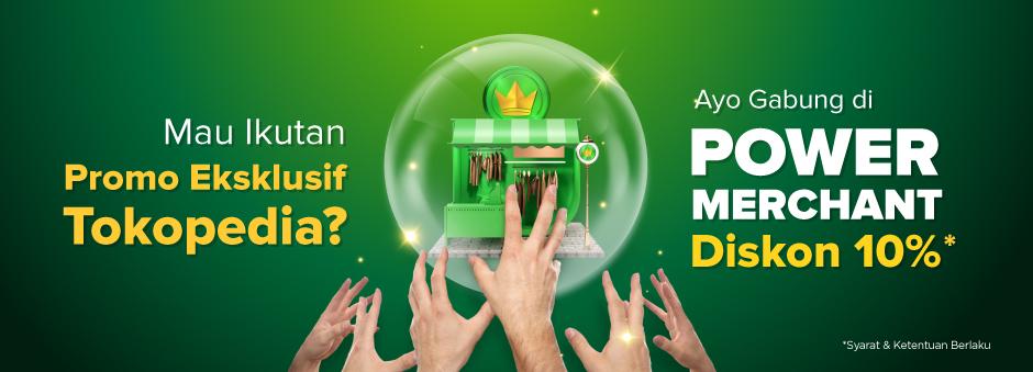 Mau Ikut Promo khusus Power Badge? Raih dengan Power Merchant, Diskon 10%!