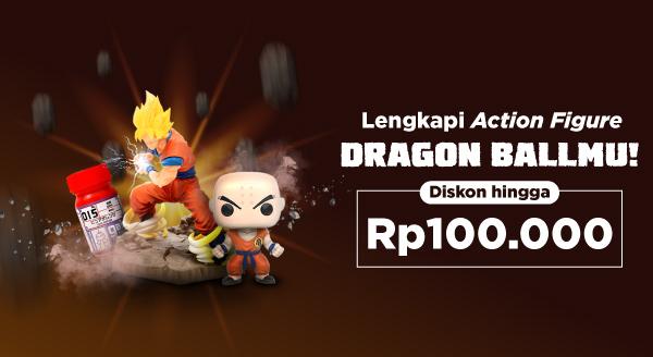 Beli Koleksi Action Figure Dragon Ball Favoritmu Diskon s.d 100 Ribu