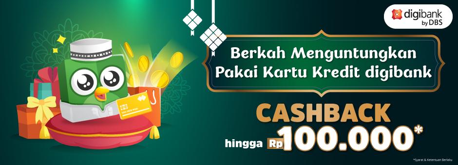 Promo Digibank untuk Sambut Ramadan dengan Cashback hingga Rp100.000