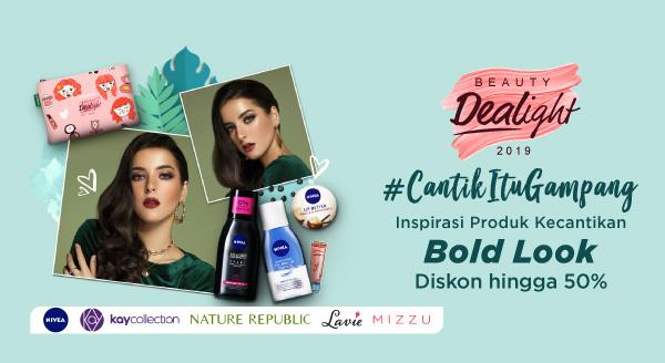 2019 Tampil Makin Percaya Diri dengan Bold Look! Diskon hingga 50%