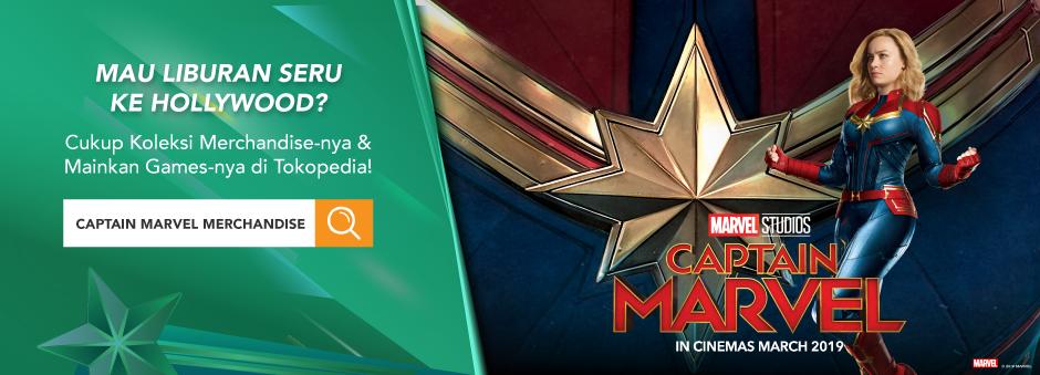 Captain Marvel – Menangkan Hadiah Liburan ke Hollywood