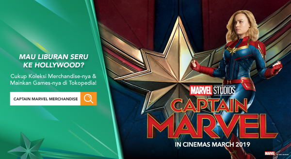Captain Marvel – Menangkan Hadiah Liburan ke Hollywood