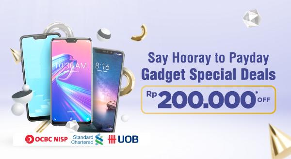 Gadget Idaman di Tangan, Lebih Hemat Pas Gajian! Diskon Rp200.000