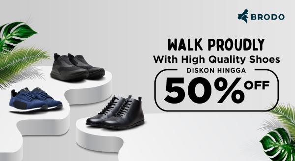 Gunakan Sepatu Ternyaman untuk Jalani Hari Dengan Aman