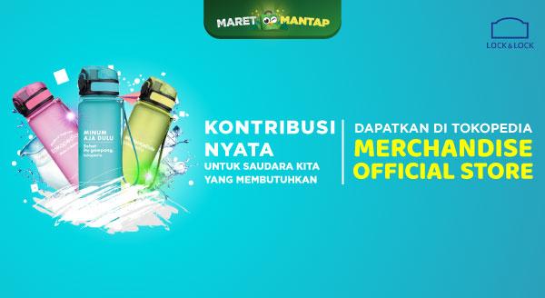 Berbagi Dengan Warga Lampung  Bersama Lock & Lock dan Tokopedia