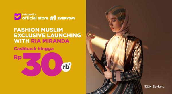 Harga Miliki Koleksi Fashion Muslim dari Ria Miranda, Ca