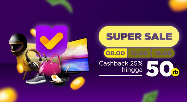 Super Sale Tokopedia! Gunakan Kode CBPAGI dan Dapatkan Cashback!
