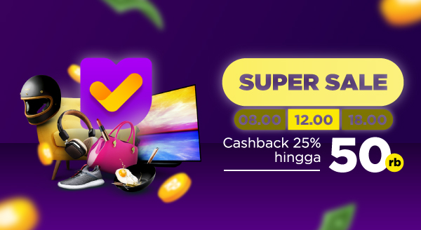 Super Sale Tokopedia! Gunakan Kode CBSIANG dan Dapatkan Cashback!