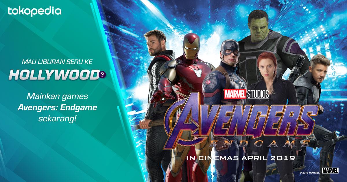Avengers: Endgame – Raih Kesempatan Menangkan Hadiah Liburan ke Hollywood!